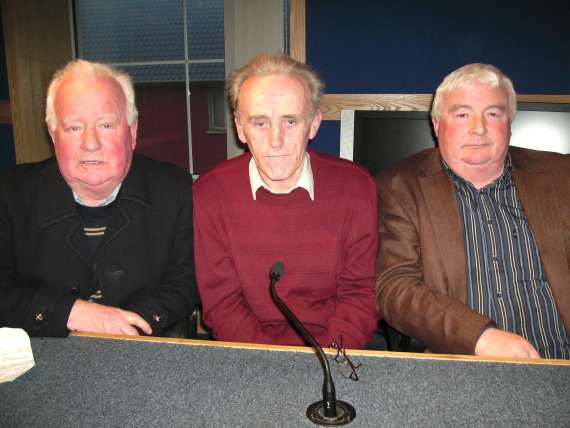 Alan Kennelly (Ballylongford), Michael O Donoghue (Glenflesk) and Aidan Galvin (Finuge)