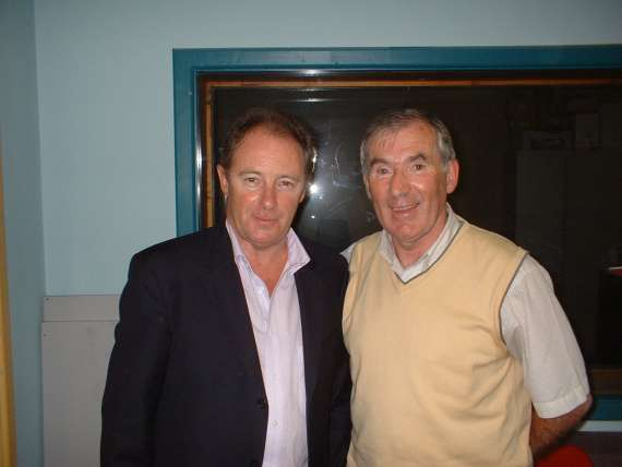 Brian Kerr and Weeshie Fogarty