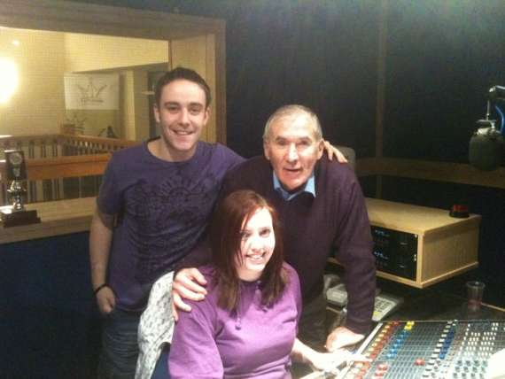 Terrace Talk Team - Andrew Morrissey, Sinead Prendergast and Weeshie Fogarty
