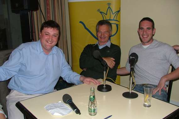 Sylvester Hennessy, Mick O Connell and Declan O'Sullivan on Terrace Talk